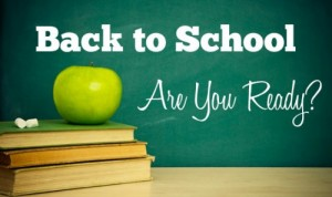 Back-to-School Are you Ready