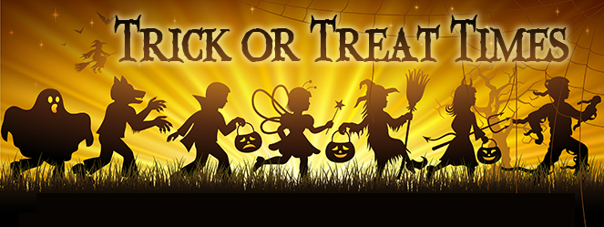 Trick Or Treat Times For Franklin Delaware And Union Counties