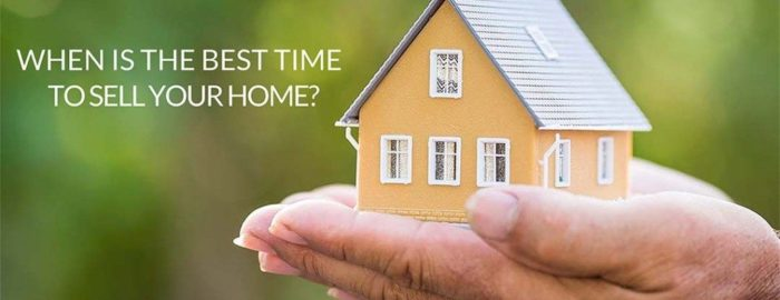 the best time to sell your home