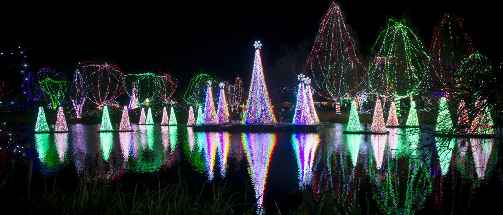 central ohio holiday light exhibits