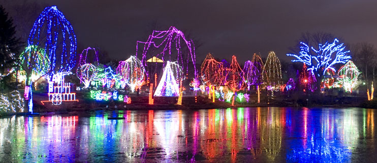 Central Ohio Holiday Light Exhibits - Central Ohio Real Estate Blog